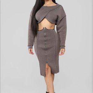 Fashion Nova two piece set